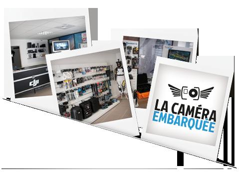 Le magasin de La Caméra Embarquée, à Aix-En-Provence