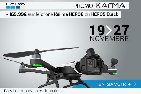 Promotion Drone Karma GoPro