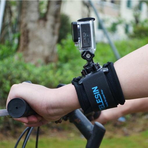 Fixation Poignet Telesin pour GoPro
