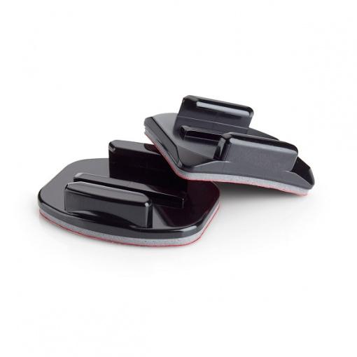 Fixations incurvées + fixations plates pour GoPro