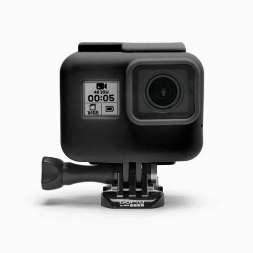 Housse en silicone Noire pour GoPro HERO/5/6/7 avec Frame