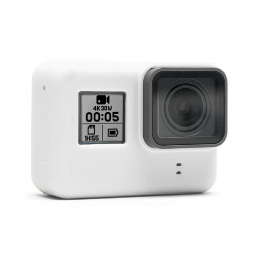 Housse en silicone Blanche pour GoPro HERO/5/6/7