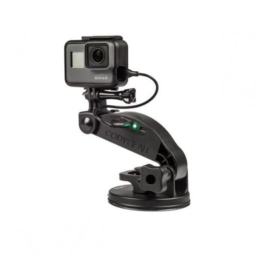 Ventouse GoPro V3 avec batterie Codygear