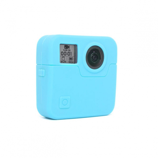 Housse en silicone Bleue pour GoPro Fusion