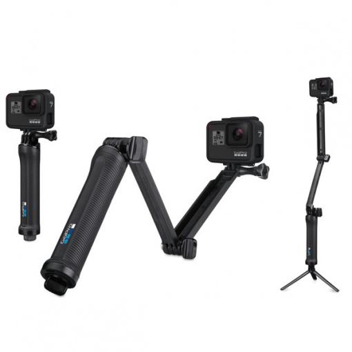 GoPro 3-Way perche, poignée et trépied