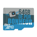 Carte MicroSD 64Go - La Caméra Embarquée