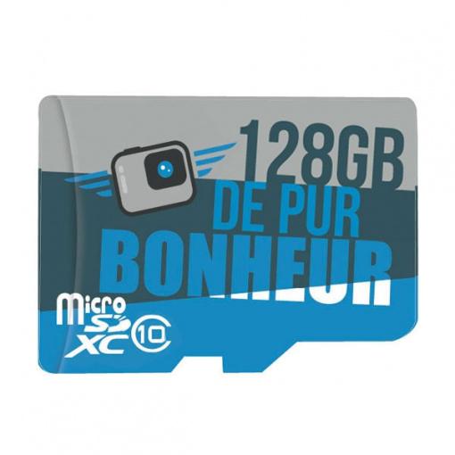 Carte MicroSD 128Go pour GoPro