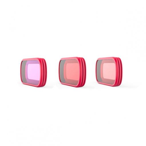Pack 3 filtres de plongée PGY - DJI Osmo Pocket