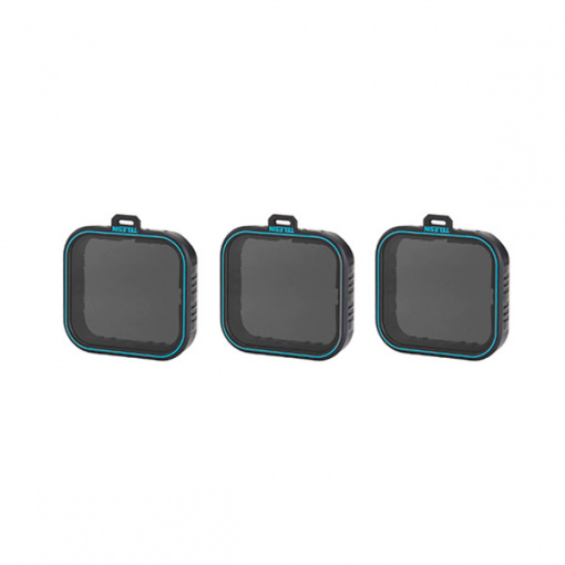 Pack de 3 filtres ND Telesin pour GoPro HERO5/6/7 Black