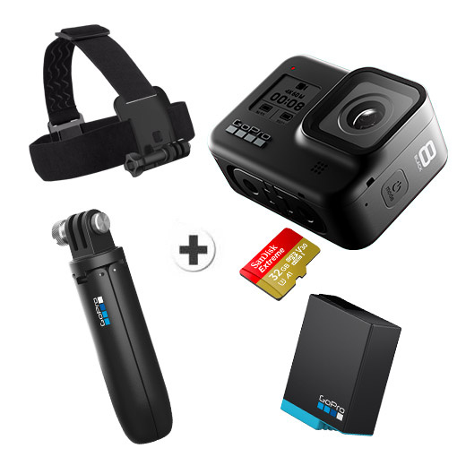 GoPro HERO8 Black - Hard Bundle