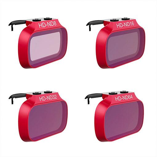 Pack de 4 filtres ND PGY Pro - DJI Mavic Mini