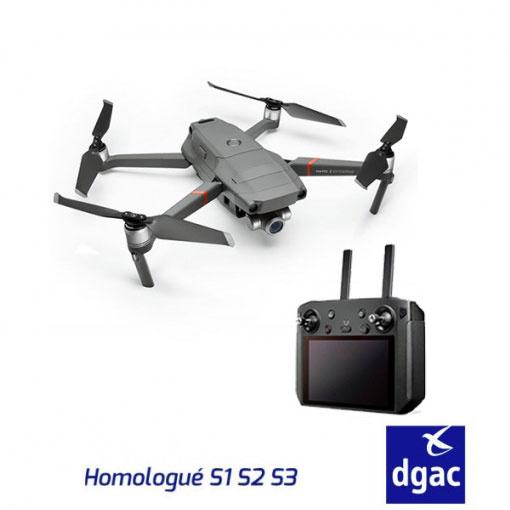 DJI Mavic 2 Entreprise & Smart Controller - Homologué S1-S2-S3