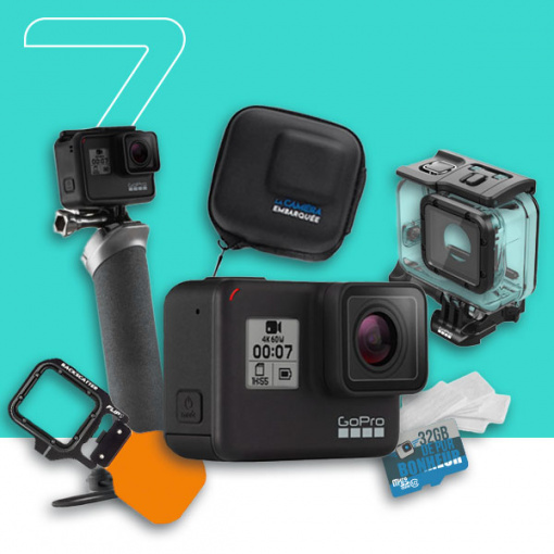 pack GoPro HERO7 Black - Water HERO