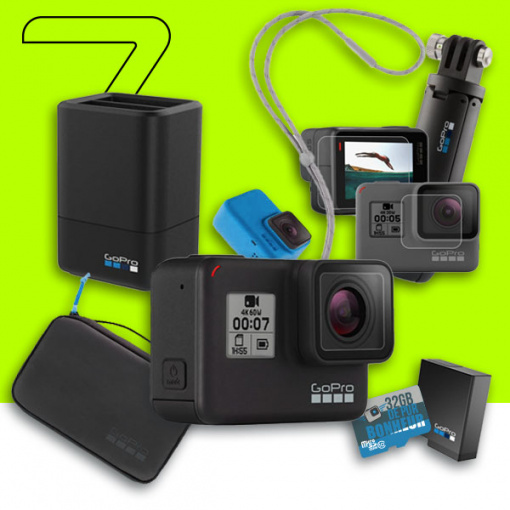 Pack GoPro HERO7 Black - Travel HERO