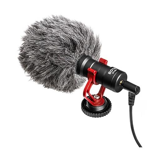 Microphone ultra compact Boya BY-MM1 Cardioid