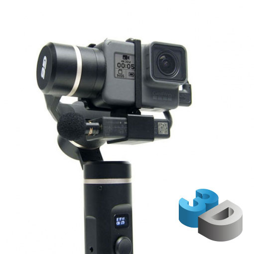 Support adaptateur micro GoPro pour Feiyu G6 - impression 3D LCE