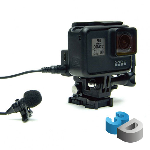 Mic Mount Ride - Support Adaptateur Micro - impression 3D LCE