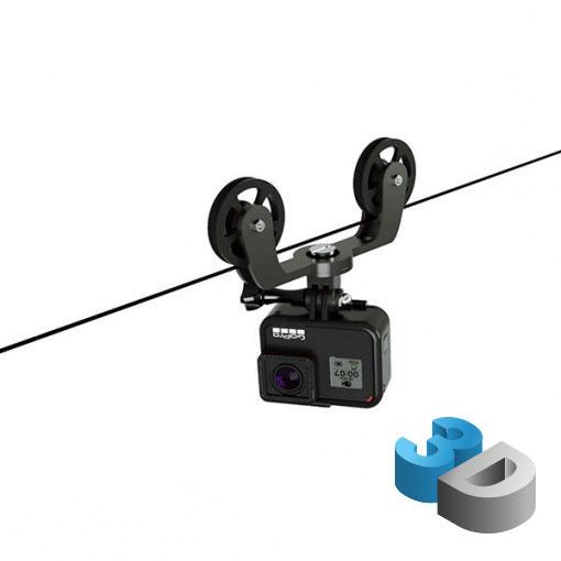 Gravity 3D - Cablecam pour GoPro - impression 3D LCE