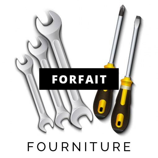Forfait fourniture