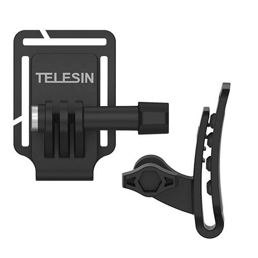 Fixation casquette pour GoPro HERO5/6/7/8 - Telesin