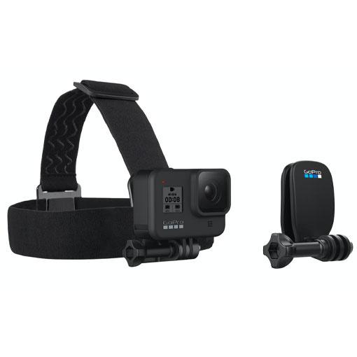 Bandeau frontal + Quickclip GoPro