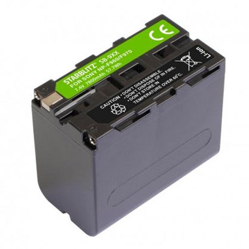 Batterie SB-F9XX pour Sony NP-F970/F950/F930 - Starblitz