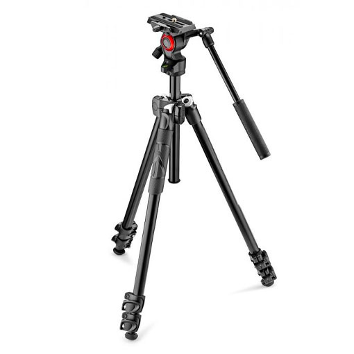 Trépied Manfrotto 290 Light avec Rotule Fluide Befree Live