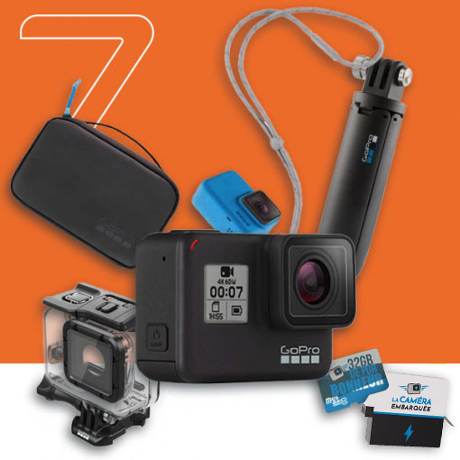 pack GoPro HERO7 Black - Family HERO