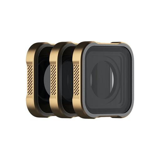 Kit 3 filtres ND PolarPro pour GoPro HERO9 et HERO10 (ND8, ND16, ND32)