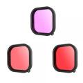 Kit de 3 filtres pour EasyWear GoPro HERO9 & HERO10