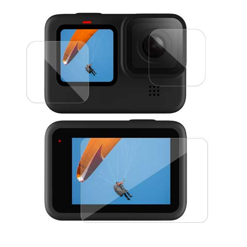 Film protecteur Telesin Tempered Glass pour GoPro HERO9 Black