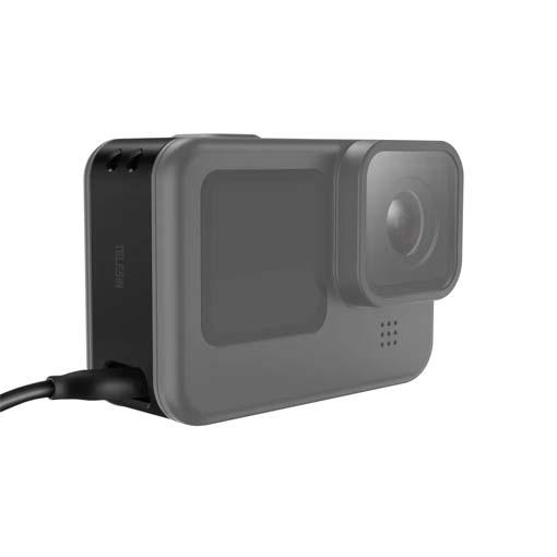 Couvercle de batterie Telesin avec port de chargement GoPro HERO9
