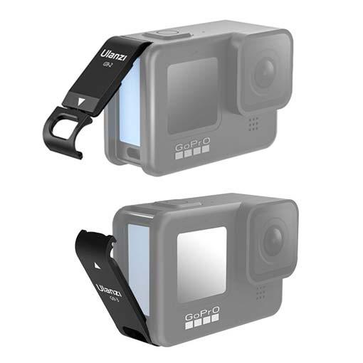 Porte latérale ouverte Ulanzi pour GoPro HERO9 Black