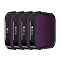 Pack de 4 Filtres PL et ND (8-16-32) pour GoPro HERO9 - Freewell