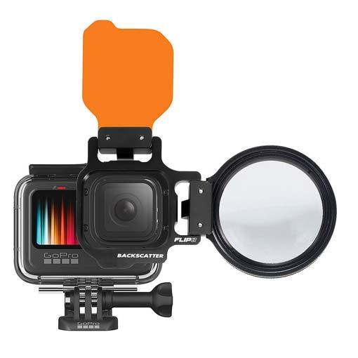 Backscatter FLIP 8 Pro - Filtres de plongée et objectif macro pour GoPro