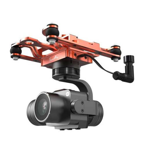 Nacelle 3 axes avec caméra étanche GC3 4K pour SplashDrone 3+