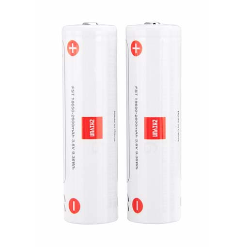 Kit de 2 batteries lithium-ion Zhiyun-Tech (2600mAh)