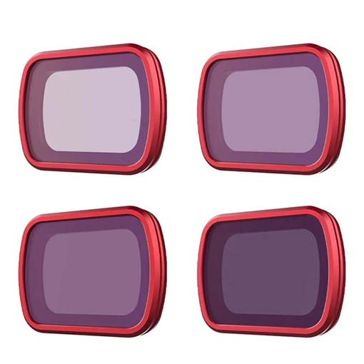 Pack 4 Filtres ND Professionnel PGY pour Osmo Pocket et Pocket 2