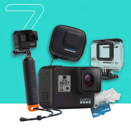 Pack GoPro HERO7 Black - Water Addict