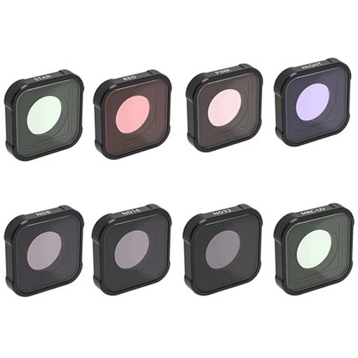 Pack de 8 filtres JuneStar pour GoPro HERO9