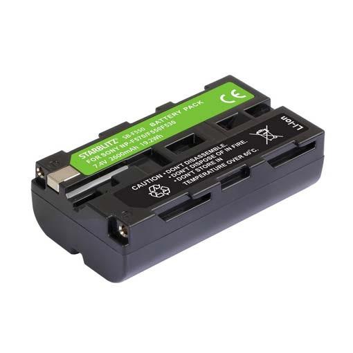 Batterie SB-F550 Starblitz pour Sony NP-F530/550/570