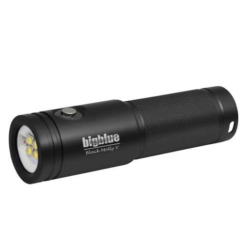 Lampe de plongée AL2600XWP-II Black Moly V BigBlue 2600 lumens