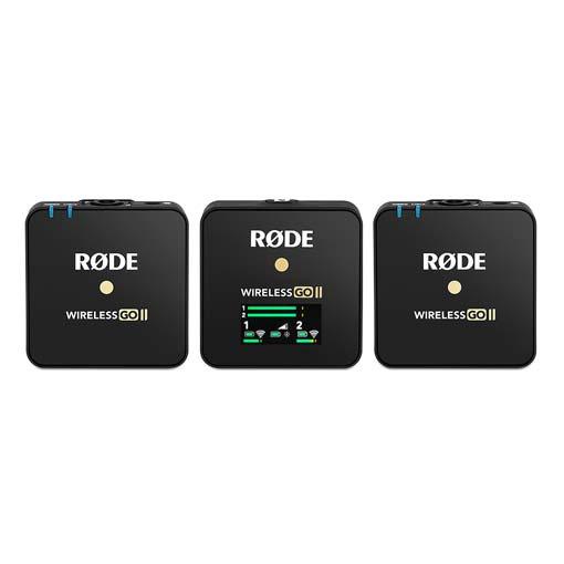 Microphones RODE Wireless GO II BLACK
