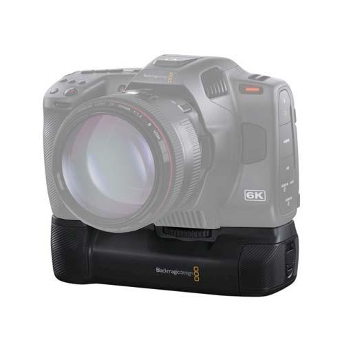 Grip d'alimentation pour Blackmagic Pocket Cinema Camera 6K Pro