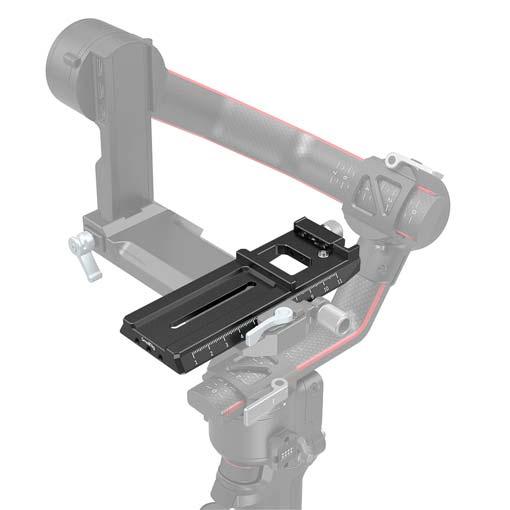 Plaque de fixation rapide avec Arca-Swiss SmallRig pour DJI RS 2/RSC 2/Ronin-S