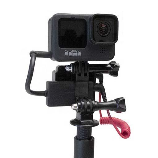 Support Adaptateur et Récepteur pour GoPro