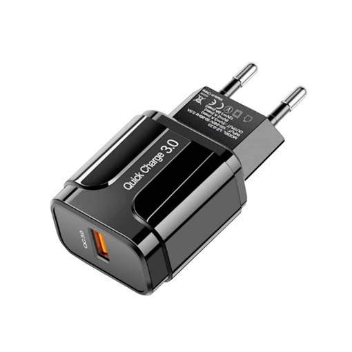 Adaptateur Secteur USB Quick charge 3.0