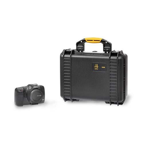 Valise HPRC 2400 pour Blackmagic pocket cinema camera 6K PRO