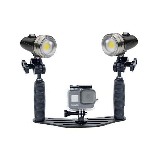 Pack phares Sola Vidéo Pro - 7600 lumens