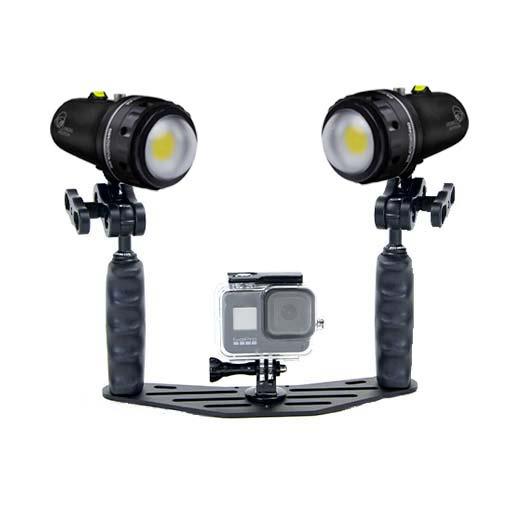 Pack phares Sola Pro Vidéo - 30 000 lumens